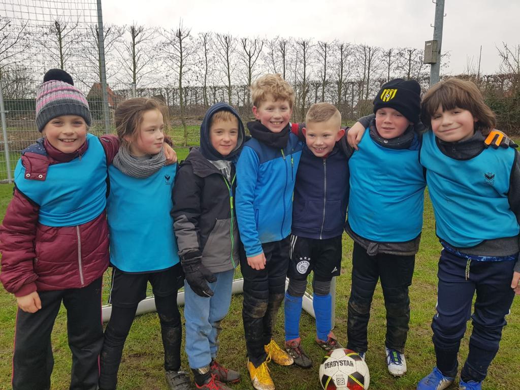 Voetbalfeestje op de Kruse Mat goed bezocht