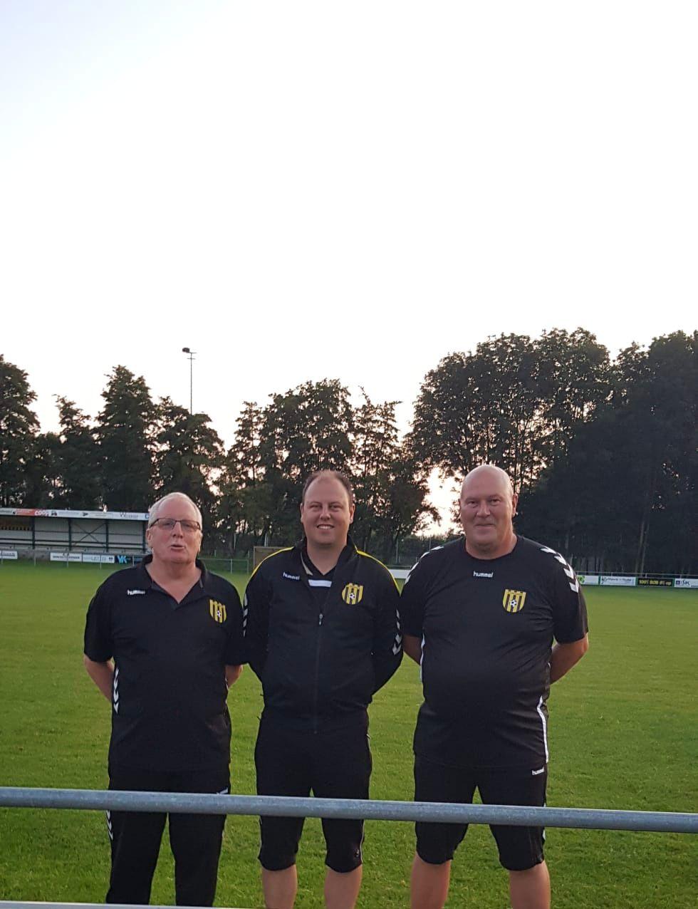 Het nieuwe Kruiningen 1 team gereed